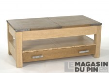 Table basse rectangulaire Havane