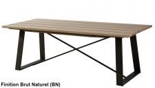 Table repas 220cm + allonge Verrière