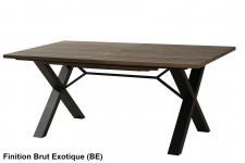 Table repas 180cm + allonge Verrière