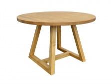 Table repas ronde Ø120 2 pieds U