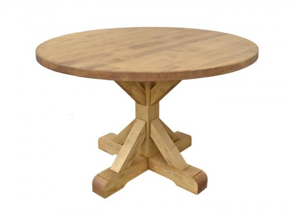 Table repas ronde Ø120 pied central