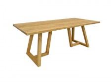Table repas 200 cm 2 pieds en U