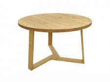 Table repas ronde Ø120 pied hélice