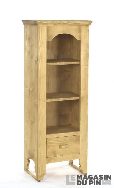 Bibliothèque avec 1 tiroir
