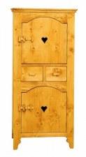 Bonnetière 2 portes motifs cœur