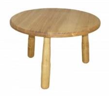 Table basse ronde diamètre 60 cm