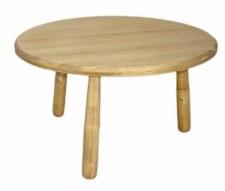 Table basse ronde diamètre 80 cm