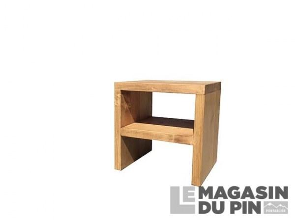Chevet cube 1 étagère