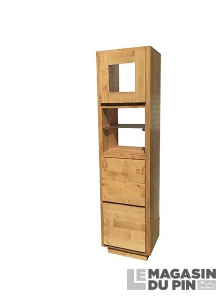Colonne 2 portes 2 tiroirs