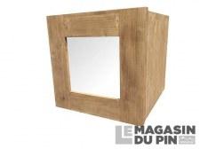 Porte vitrée pour intérieur de cube