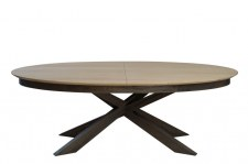 Table ovale 220cm extensible Infinity
